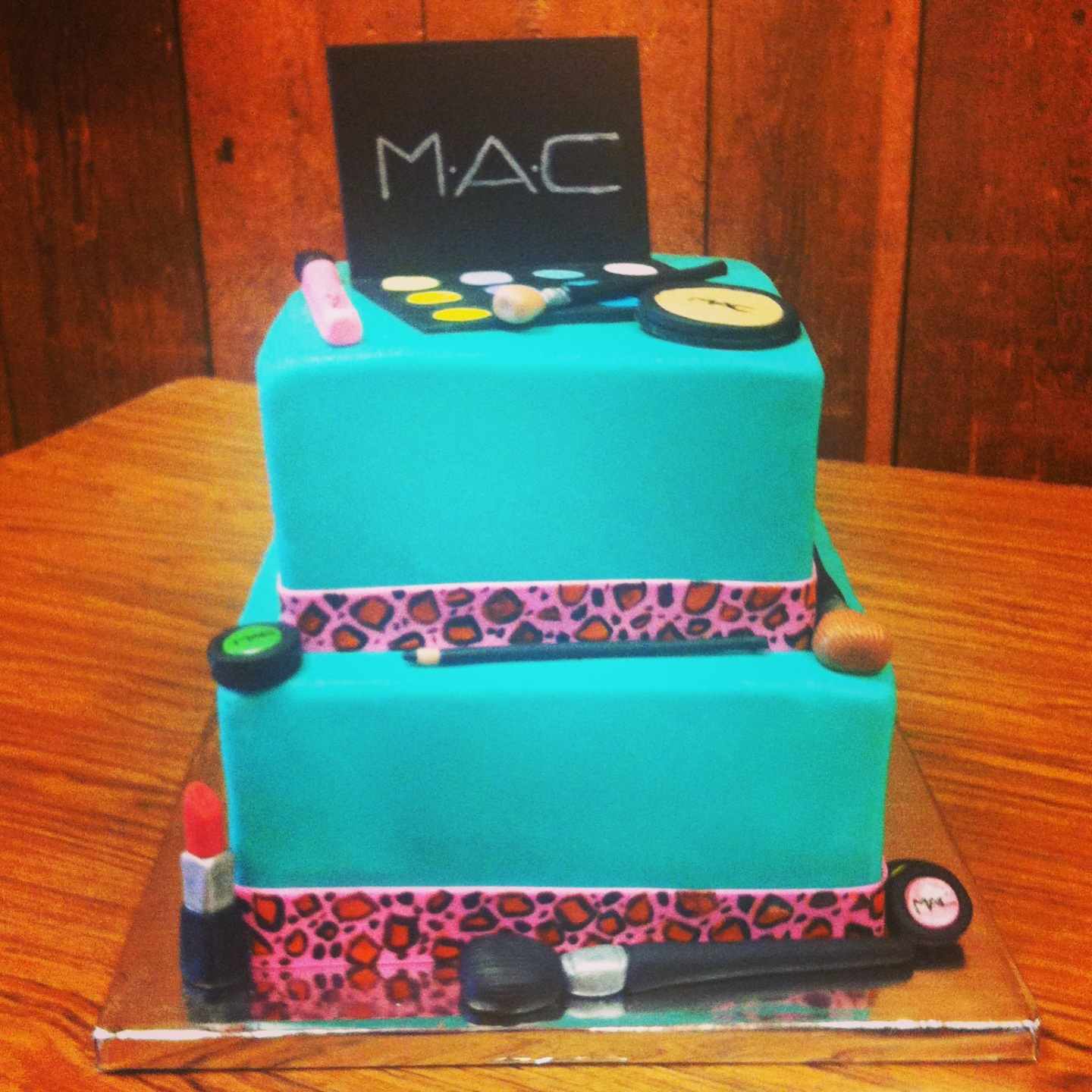 Simply Delicious Cakes M A C Makeup Cake