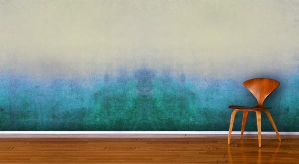 Hasil gambar untuk dinding motif ombre