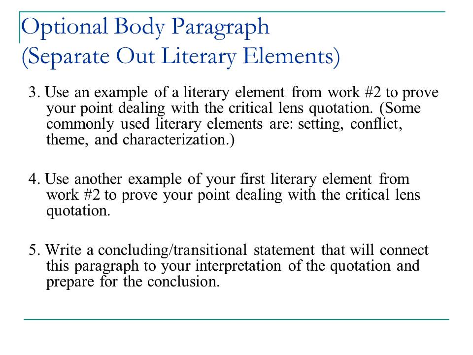 mary libby nichols critical lens review example critical lens essay guide some slides have been removed due to space constraints