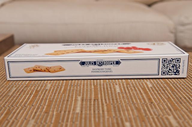Biscuits à la Framboise Jules Destrooper - Raspberry Thins Jules Destrooper - Framboise - Biscuits - Biscuits Belges - Framboise - Review - Avis - Dessert - Food - Himbeer - Spéculoos - Jules Destrooper