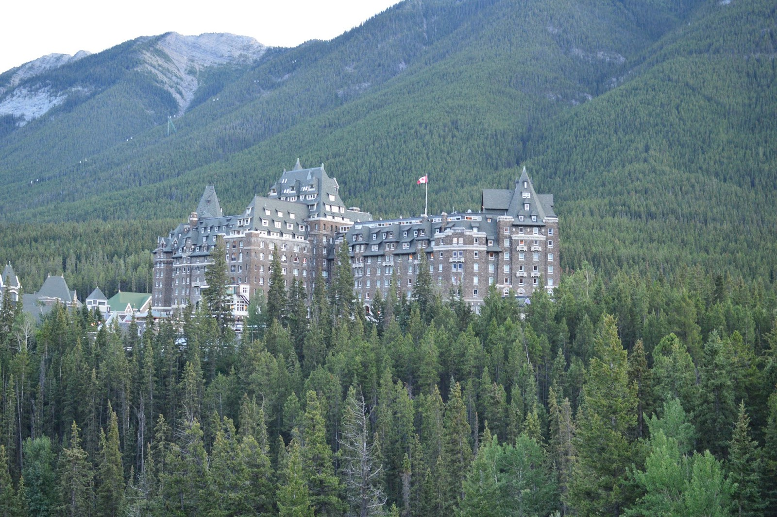 Fairmont Banff Springs | Views from Surprise Corner | What to do in Banff | A Memory of Us |