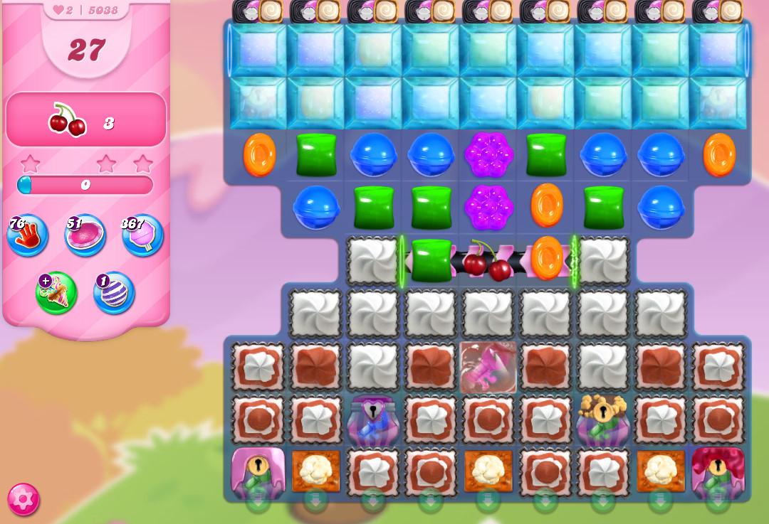Candy Crush Saga level 5038