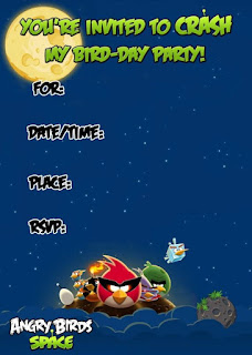 Fiesta de Angry Birds para Descargar Gratis. Mini Kit.