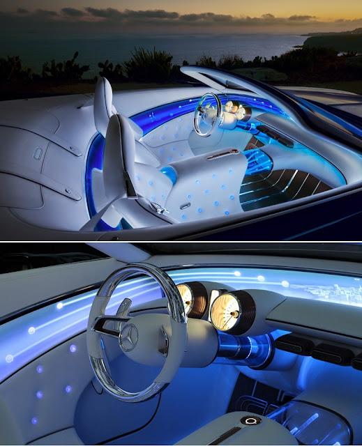 Mercedes Vision 6 Cabriolet interior