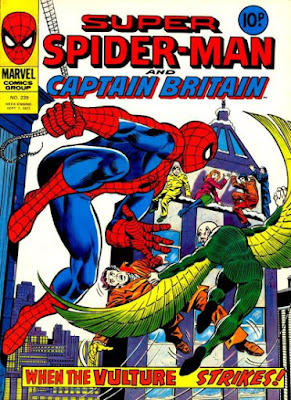 Super Spider-Man and Captain Britain #239, the Vulture