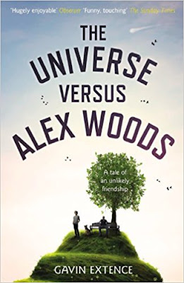 The Universe Versus Alex Woods by Gavin Extence (Book cover)
