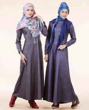 Busana muslim modis modern ala zoya 2015