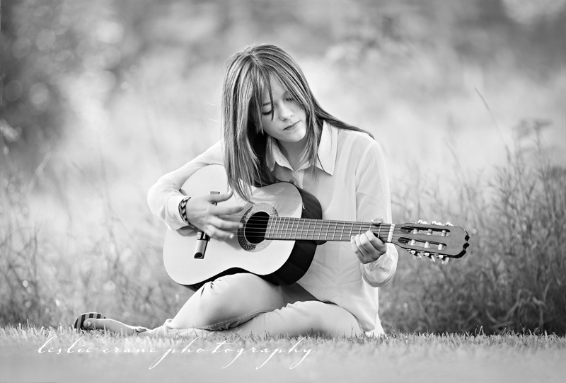 Leslie Crane Photography: A Girl and a Guitar  {Minnesota