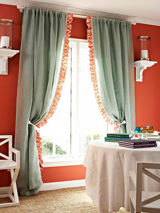 Modern Furniture Window Treatment design ideas 2012  Easy Projects You Can Do