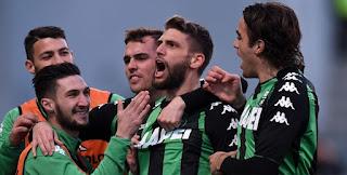 Sassuolo vs Atalanta Live Streaming online Today 27.1.2018 Italy Serie A