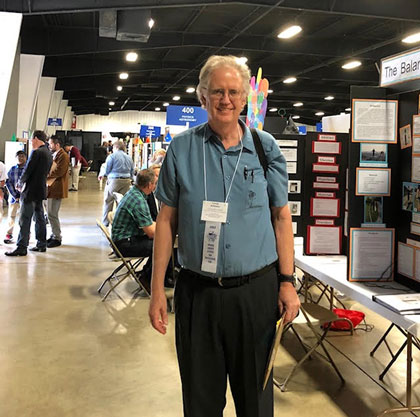 Palmia Observatory Resident Astronomer shows up as one of OCSF volunteer judges (Source: Palmia Observatory)