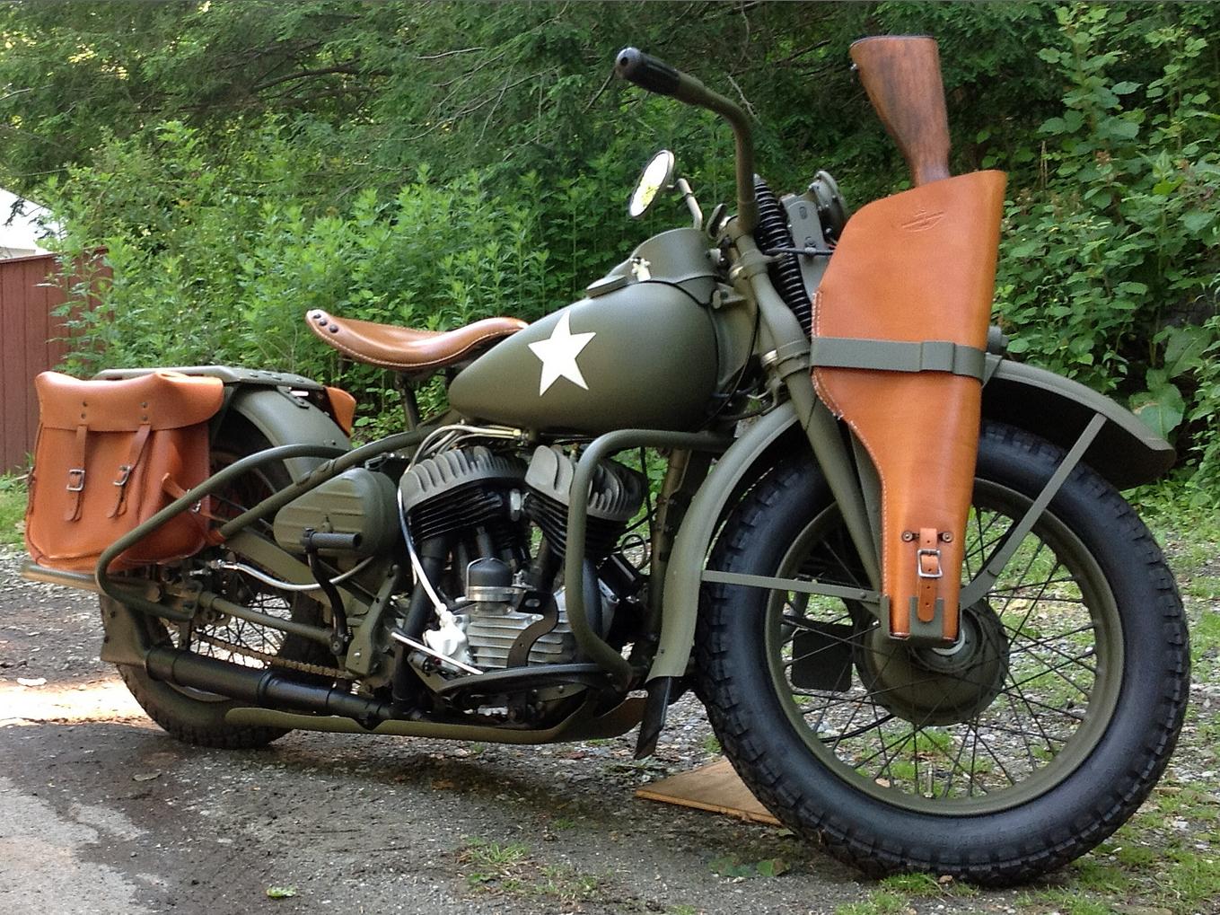 Harley Davidson Wla Army