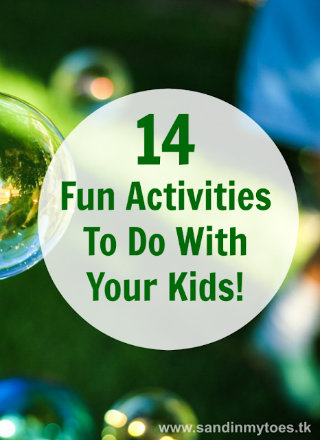 Activities and games aren't just for kids. Check out these 14 ideas where the whole family can join in the fun!