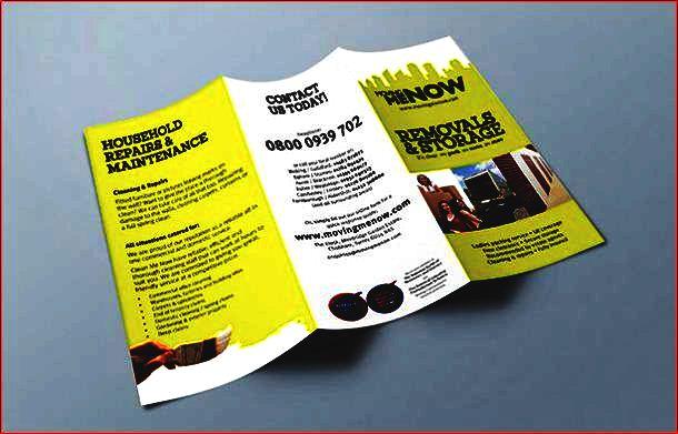 reklame-leaflet