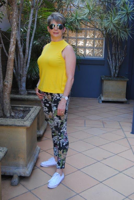 HAVING FUN WITH BRIGHT COLOURS AND PRINTS
