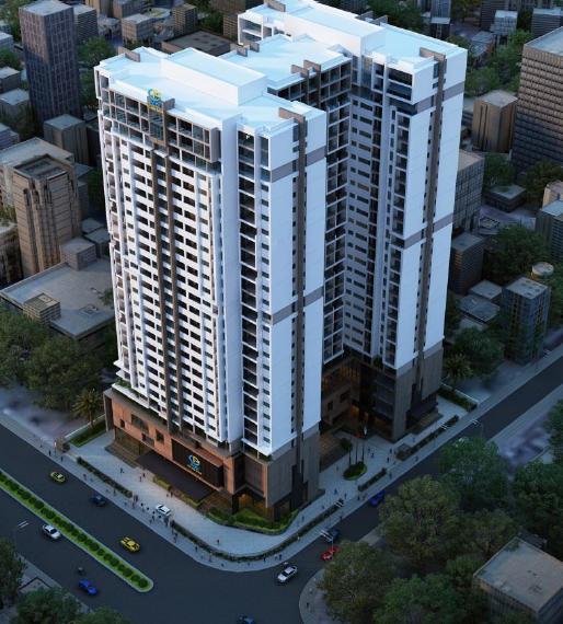 Phối cảnh tổng thể dự án chung cư Mỹ Đình Plaza 2