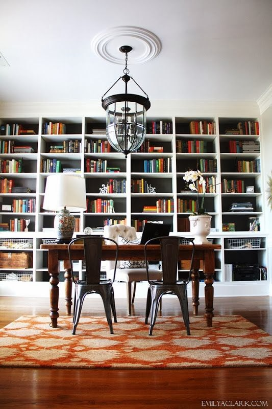 Dining Room Office Combo: Formal Dining Rooms Turned Offices