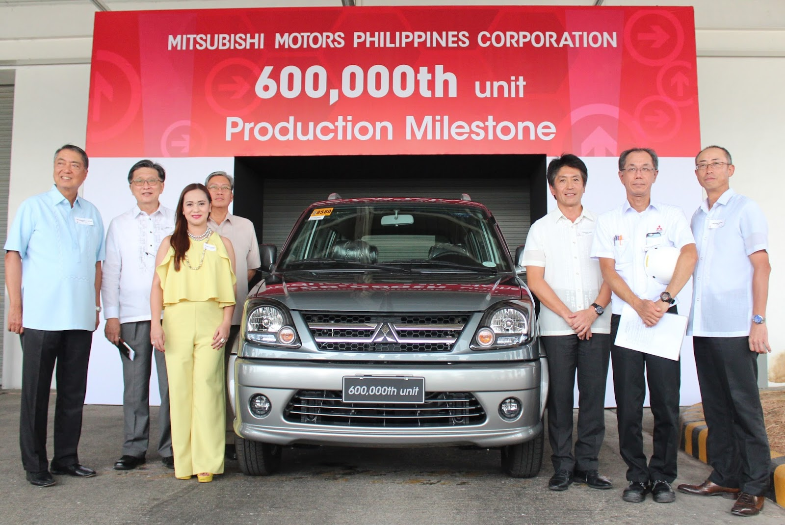 Mitsubishi Motors Philippines Celebrated Its 600,000th unit Production Milestone