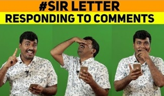 Simtaangraan | Responding to Comments | Sir letter | Kichdy