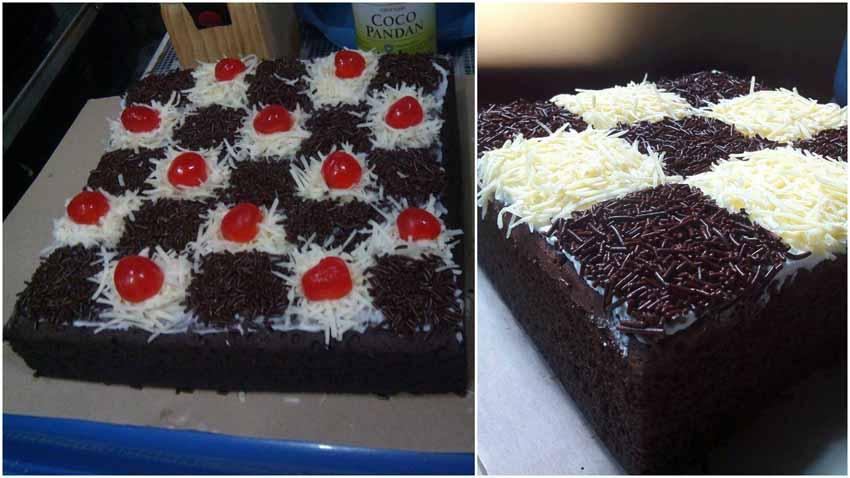 Resep Brownies Kukus Ny. Liem