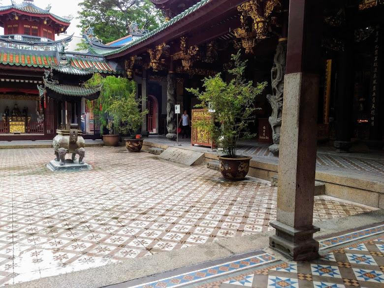 天福宮,早期當地華人的信仰中心,當時登陸新加坡後,首要來這裡感謝媽祖的庇祐