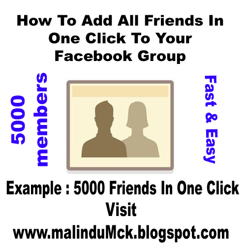 Add All Friends In One Click To Facebook Group