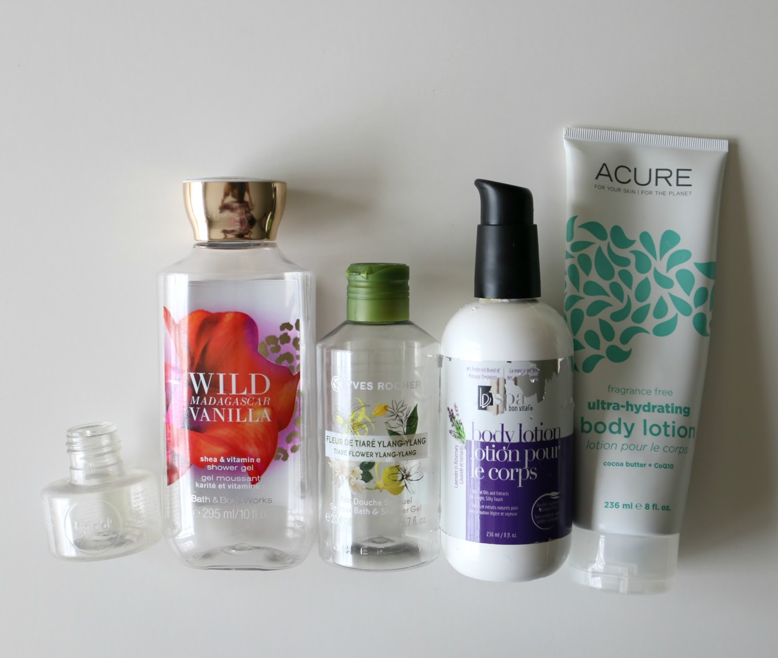 winter beauty empties
