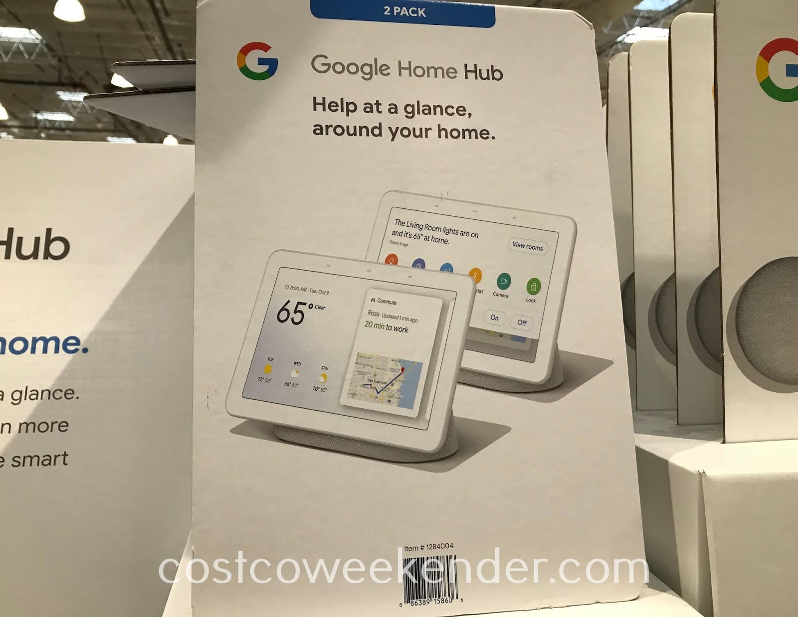 Turn your home into a smart home and get information quickly and with Google Home Hub