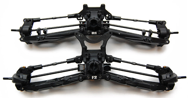 Axial Exo Terra front and rear suspension