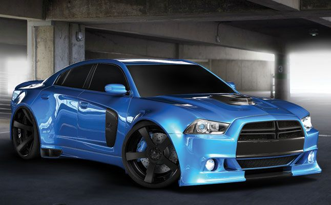 Muscle Car Collection Dodge Charger Wide Body Wallpaper