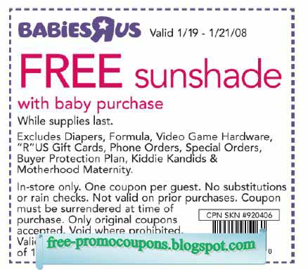 picture about Babies R Us Coupon Printable identify Boy or girl r us discount coupons printable : Least difficult get appliances clearance