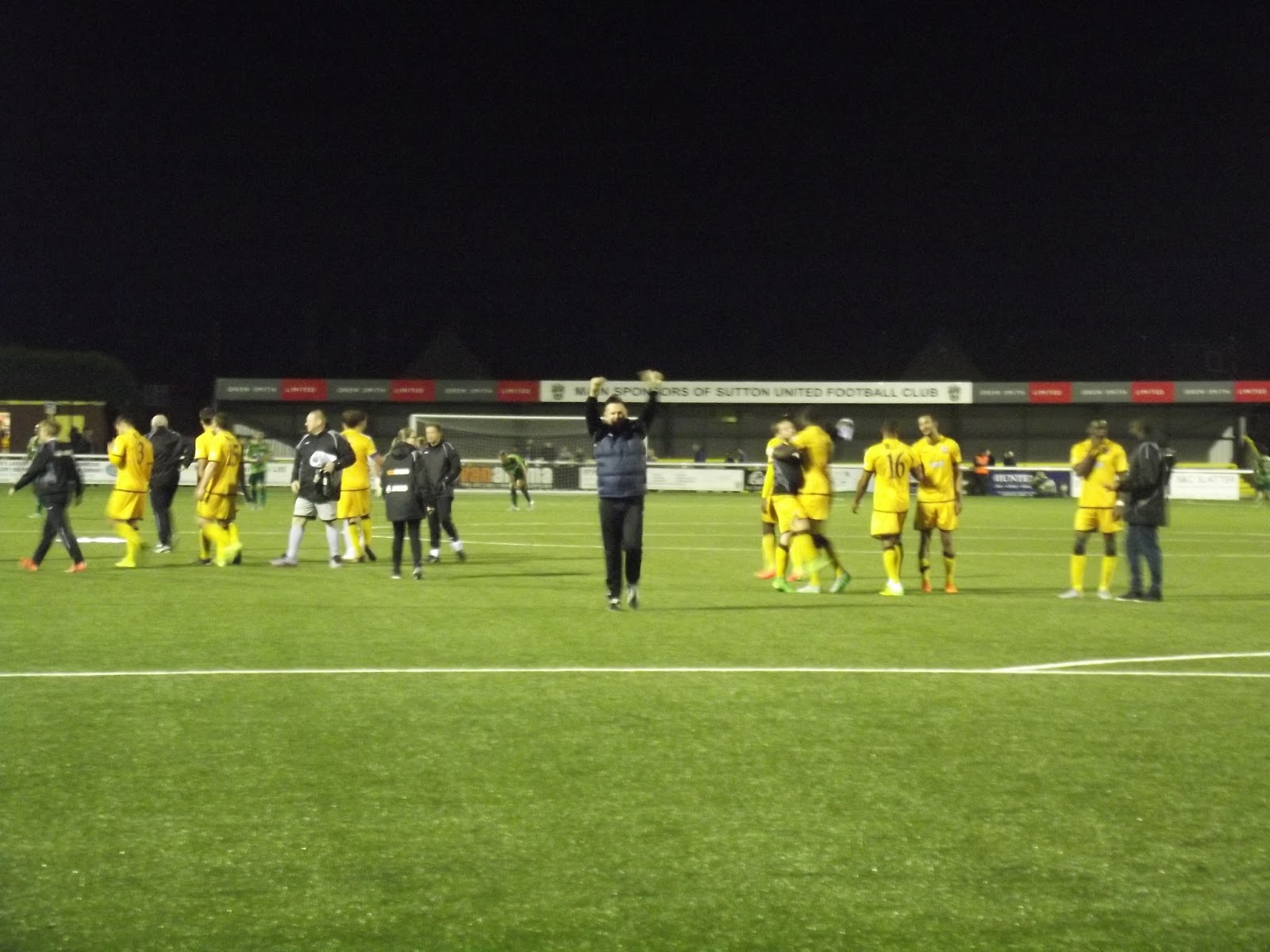 The Wycombe Wanderer: Sutton United - Borough Sports Ground