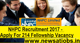 nhpc-Apply-For-214-Fellowship-Vacancy
