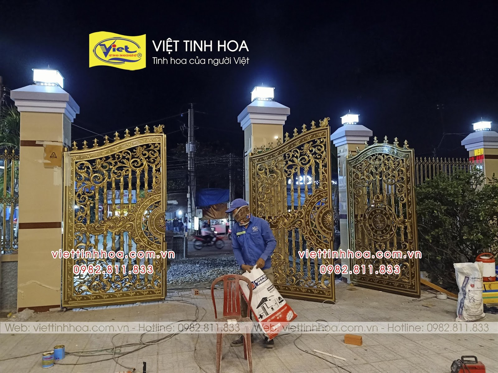 Cổng Nhôm Đúc An Phú