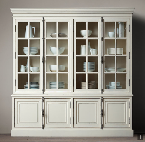 Restoration Hardware Kitchen Cabinets: Dressing Up My China Cabinet With A Cremone Bolt