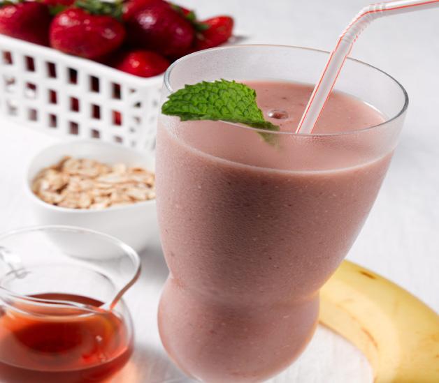 Creamy Strawberry Smoothie...