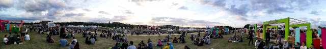 Vue Panoramique Solidays 2016 avec Huawei P9