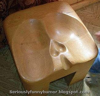 Comfortable seat for men nuts!