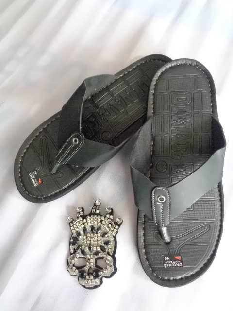 Sandal Spon Dinar MAs Tali hitam