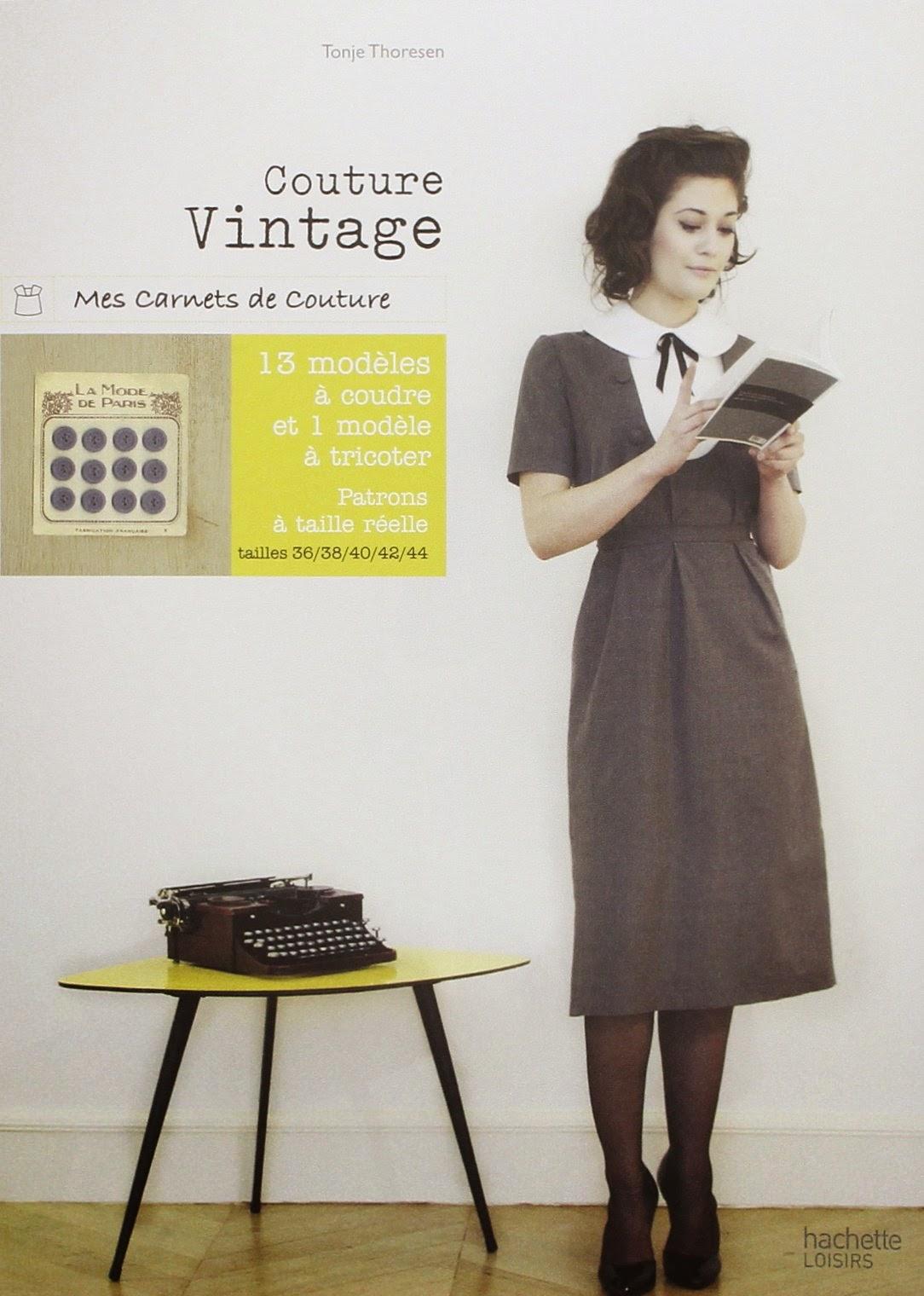 livre couture vintage patron