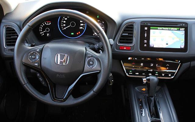 Honda HR-V EXL 2018 - interior - painel