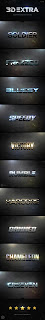 Template Gratis Graphicriver - 3D Extra Light Text Effects Vol.8