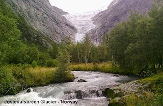 jostedalsbreen glacier norway