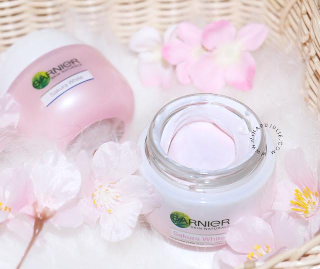 garnier Sakura White Pinkish Radiance Sleeping Essence review