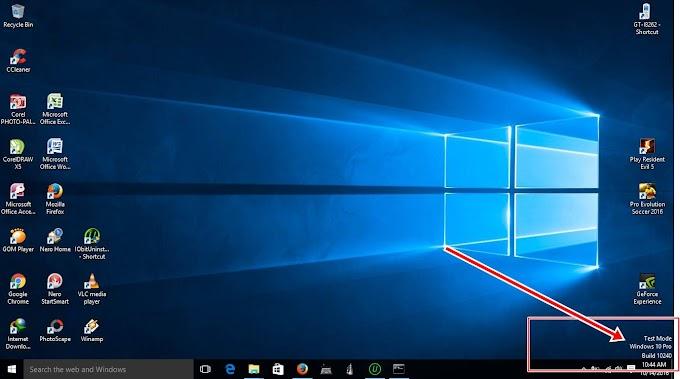 Sakses - Cara Mudah Menghilangkan Notifikasi Test Mode Windows 10 build bla bla bla