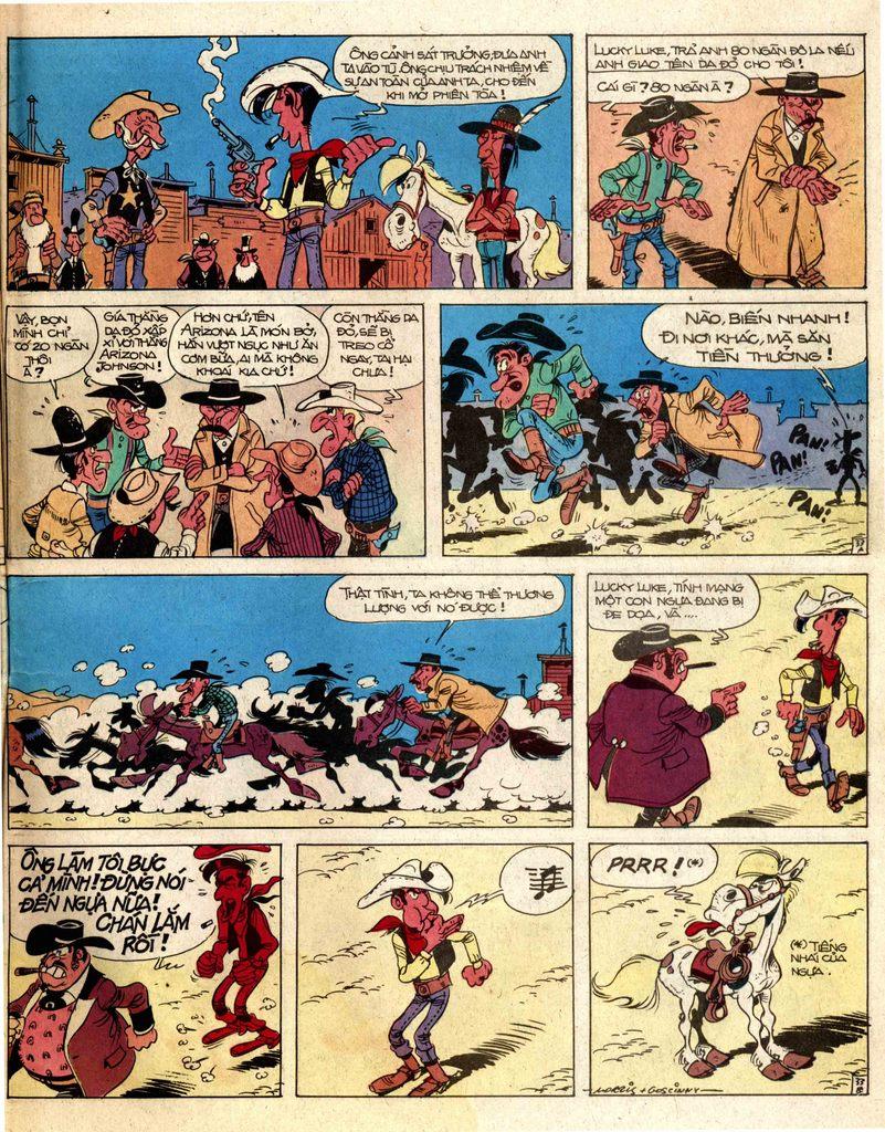 Lucky Luke tap 2 - ke san tien thuong trang 33