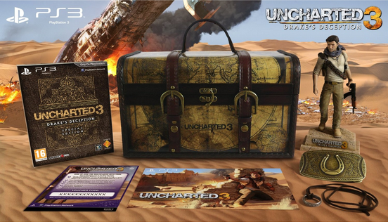Uncharted 3 - Edition Explorer