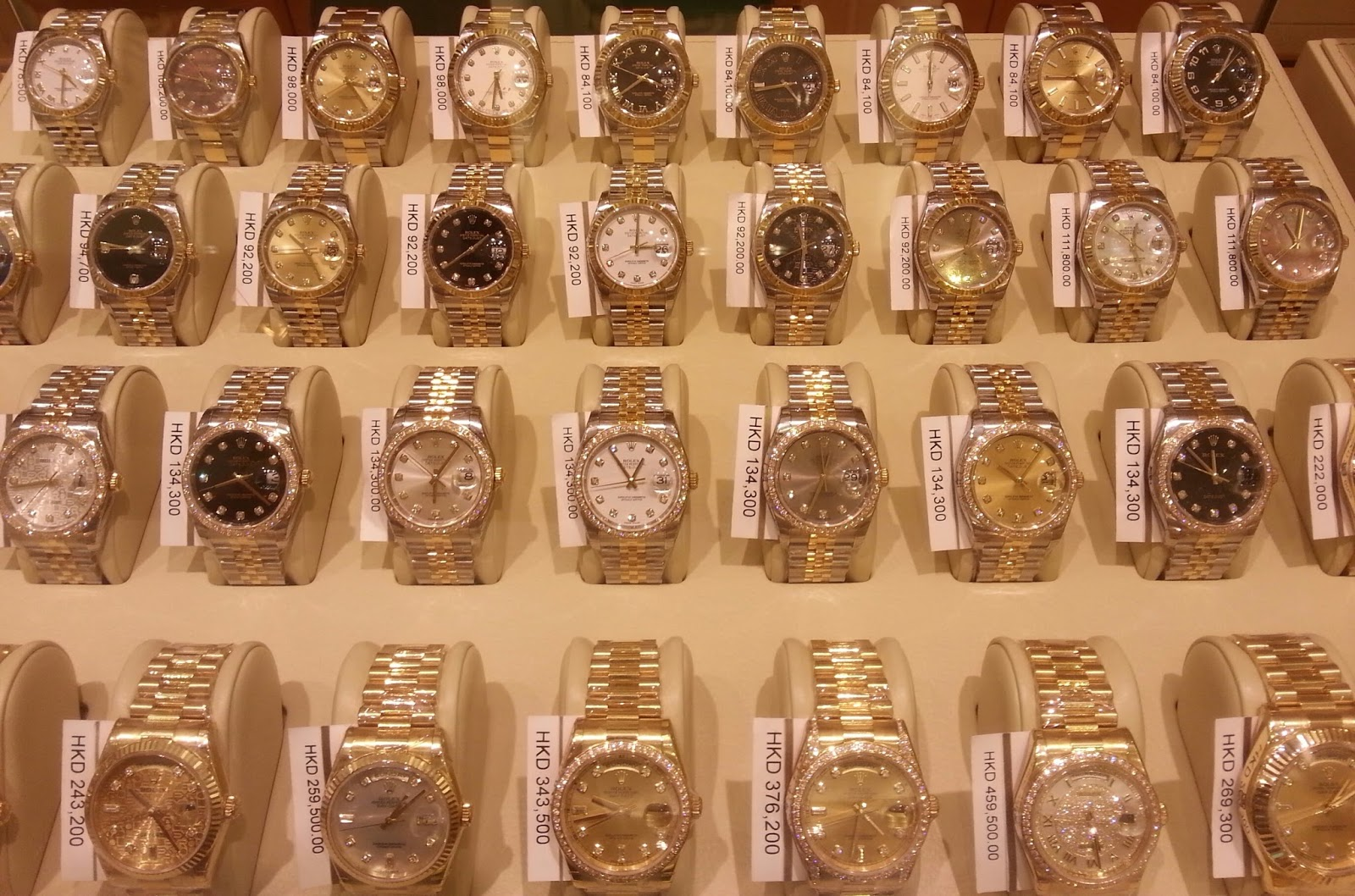 Updated Major Rolex Watch List Price And At Authorized Dealer Ad Hong Kong June 2017
