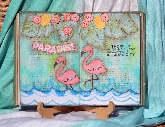 Escape to Paradise_Art Journal Pages_Denise_28 Jul_01