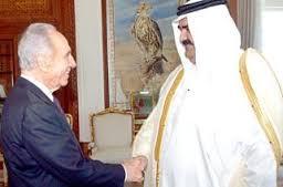شيمون-بيريز-في-قطر-كالتشر-عربية